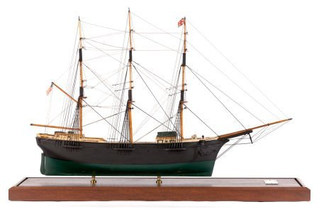 62657: A SCALE SHIP MODEL OF A LARGE MAINE DOWNEASTER A