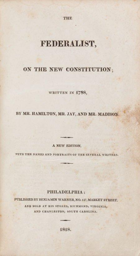 36010: Alexander Hamilton, James Madison, and John Jay.