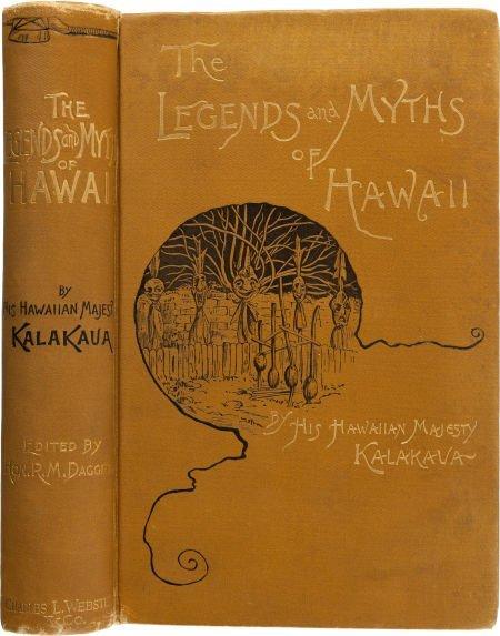 36013: His Hawaiian Majesty King Kalakaua. The Legends