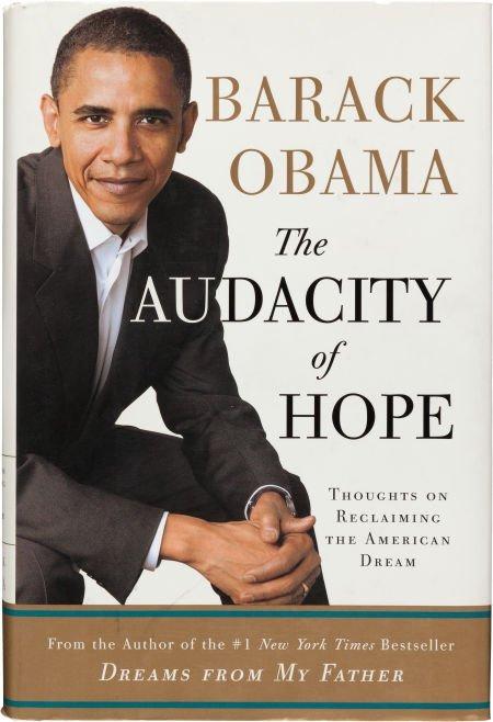 36019: Barack Obama. The Audacity of Hope. Thoughts on