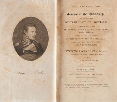 36022: Zebulon Pike. An Account of Expeditions to the S