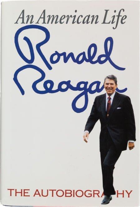 36024: Ronald Reagan. An American Life. New York, et al