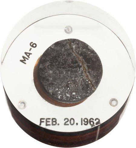 40023: Mercury-Atlas 6 (Friendship 7) Flown Heat Shield