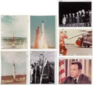 40036: Project Mercury Collection of Seven Original NAS