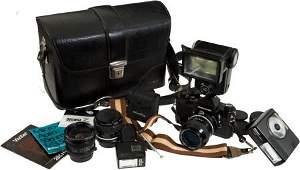 40444: Nikkormat FT2 Single Lens Reflex Camera, Serial