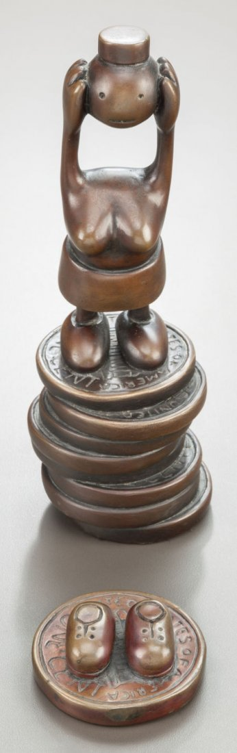 64119: TOM OTTERNESS (American, b. 1952) Two Untitled S