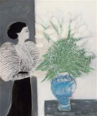 64017: ANDRÉ BRASILIER (French, b. 1929) Grey Harmony,