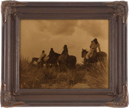 74002: EDWARD S.  CURTIS (American, 1868-1952) Before t
