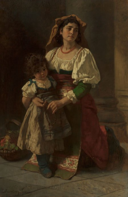 63019: CARL LUDWIG FRIEDRICH BECKER (German, 1820-1900)