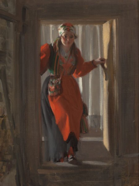 63039: ANDERS LEONARD ZORN (Swedish, 1860-1920) Enterin