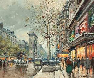 63086: ANTOINE BLANCHARD (French, 1910-1988) Les Grands
