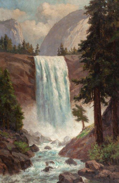 70002: CHRISTIAN JORGENSEN (American, 1860-1935) Vernal