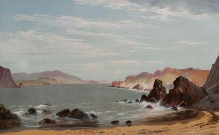 70004: EDWIN DEAKIN (American, 1838-1923) Fort Point, S