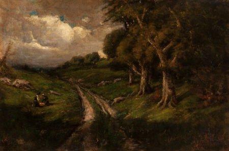 70008: WILLIAM KEITH (American, 1839-1911) California L