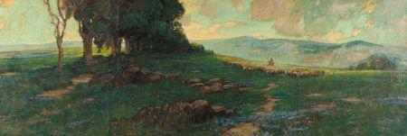 70010: KARL SCHMIDT (American, 1890-1962) A Heard of Sh