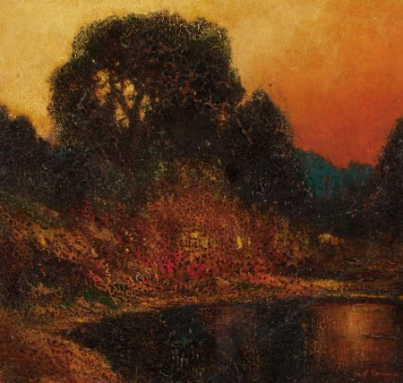 70011: WILL SPARKS (American, 1862-1937) Sunset, Russia