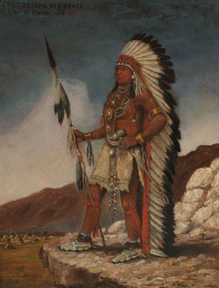 70014: HENRY HERMAN CROSS (American, 1837-1918) Chief J