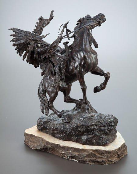 70021: CARL KAUBA (Austrian, 1865-1922) How-Kola Bronze