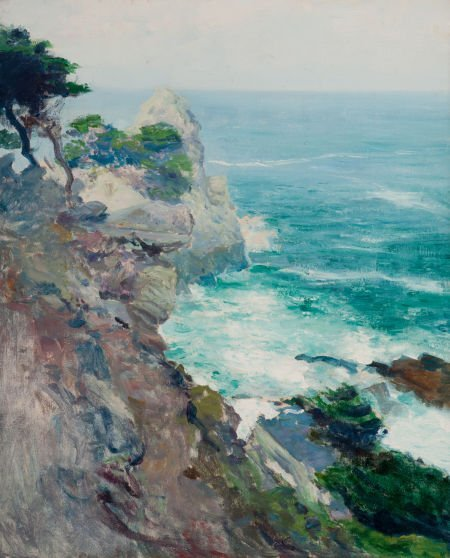 70070: GUY ROSE (American, 1867-1925) Out to Sea, Point