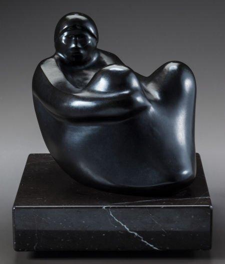 50001: ALLAN HOUSER, APACHE (1914 - 1994) Respite c. 19
