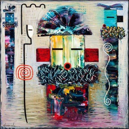 50006: DAN NAMINGHA, HOPI (b. 1950) Dreamstate Image #2