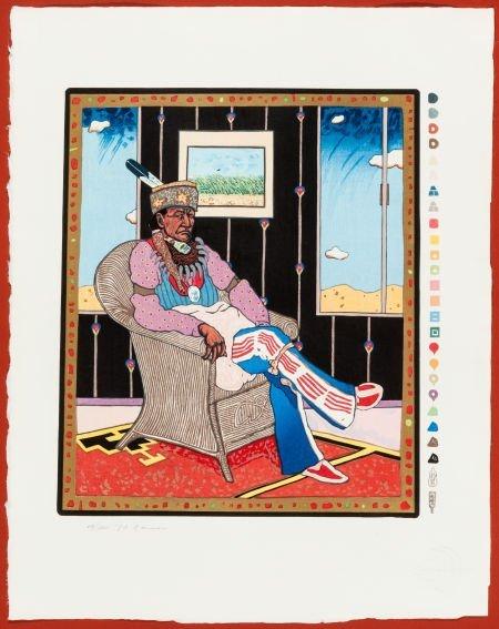 50010: T.C. CANNON, CADDO/KIOWA (1946-1978) Portraits o