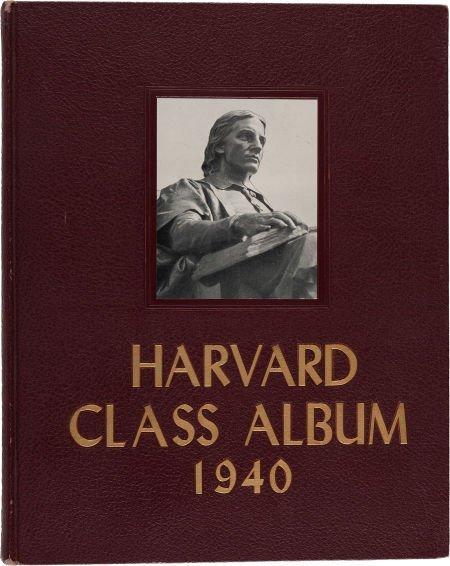 38004: John F. Kennedy: Harvard Class Album 1940.