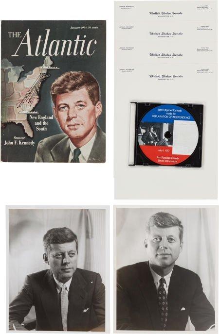 38011: John F. Kennedy: U.S. Senate Collection.