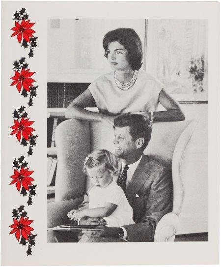 38017: John F. Kennedy: Christmas Card, 1959,