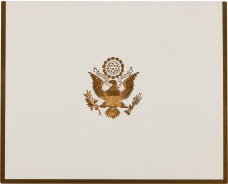 38018: John F. Kennedy: Christmas Card, 1960,