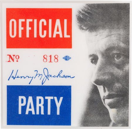 38022: John F. Kennedy: Kennedy Campaign Official Party