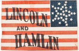 38188: Lincoln & Hamlin: A Superb, Virtually Mint 1860