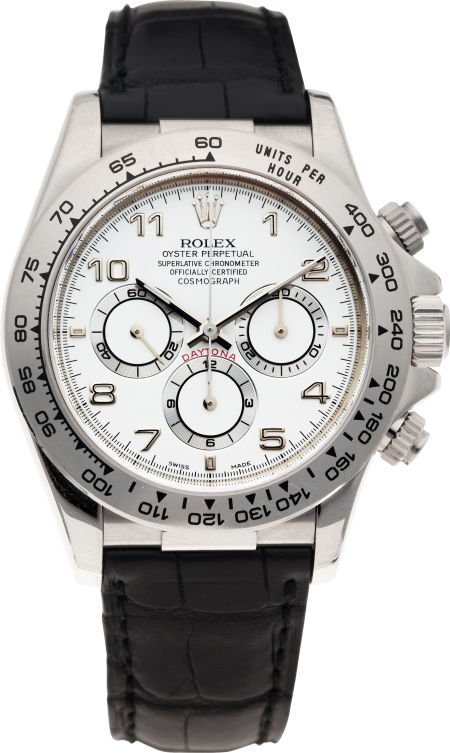 60004: No Shipping into the U.S. - Rolex Ref. 16519 Whi