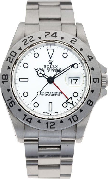 60009: No Shipping into the U.S. - Rolex Ref.. 16570 St