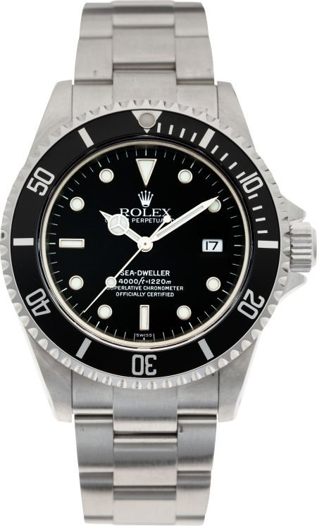 60014:  No Shipping into the U.S. - Rolex Ref. 16600 St