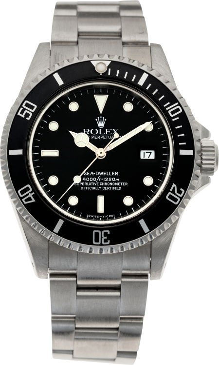60016:  No Shipping into the U.S. - Rolex Ref. 16600 St