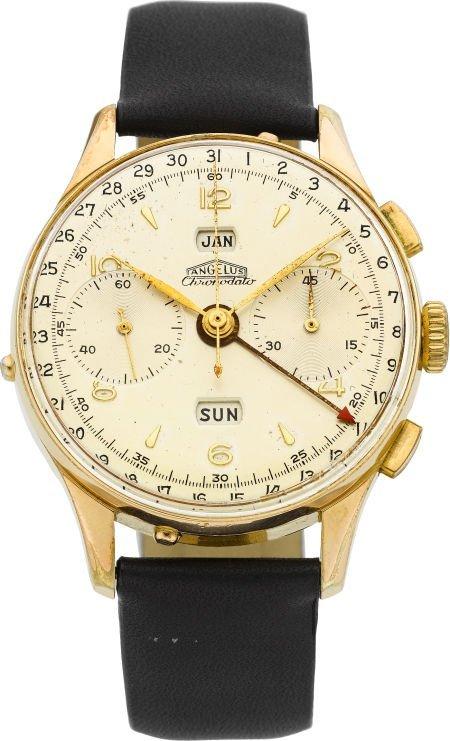 61001: Angelus Ref. 813 Vintage Chronodato Wristwatch