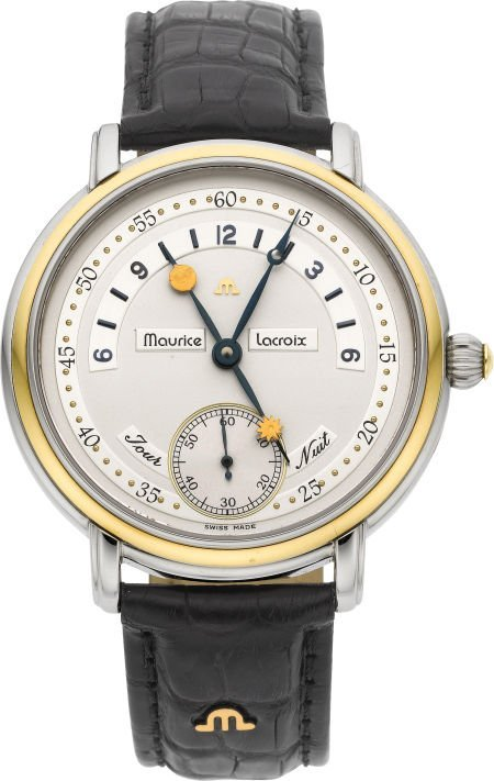 61004: Maurice Lacroix Ref. 07769 Steel & Gold Gent's W