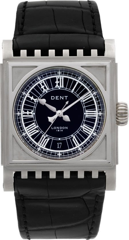 61017: Dent London Limited Edition White Gold Parliamen