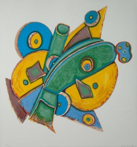 65131: ELIZABETH MURRAY (American, 1940-2007) The Clock