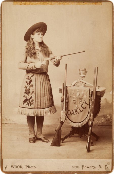 44002: Annie Oakley: A Detailed and Characteristic Cabi