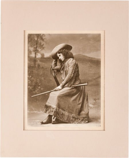 44010: Annie Oakley: Personally Inscribed Oversized Pho