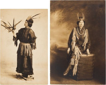 44014: Annie Oakley: Two Photographs, 1919.