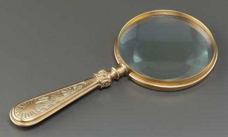 89024: TIFFANY STUDIOS GLASS AND GILT BRONZE PINE NEEDL