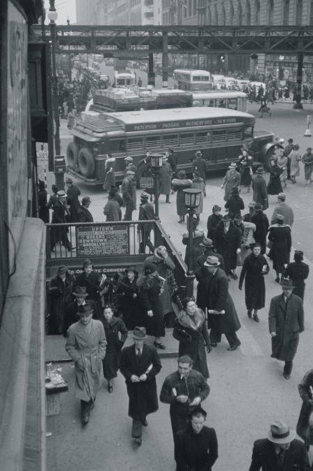 65008: GEORGE DANIELL (American, 1911-2002) Subway Near