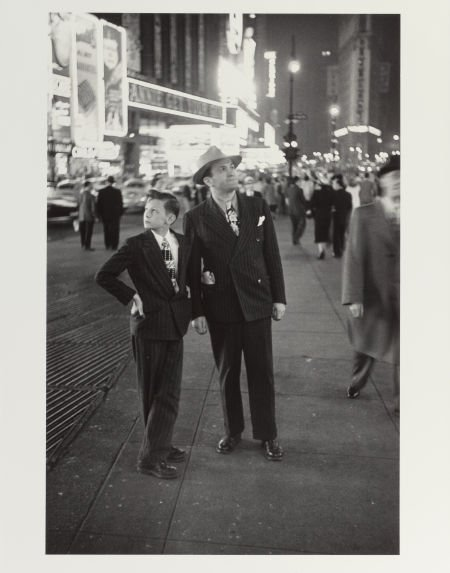 65010: LOUIS FAURER (American, 1916-2001) Times Square,
