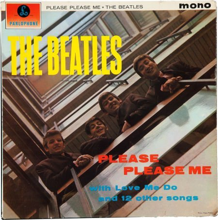 46197: Beatles Signed Please Please Me Mono UK First Pr