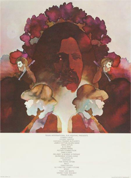 46535: Texas International Pop Festival Poster Designed