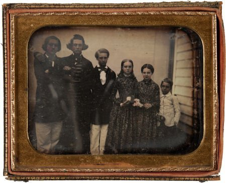52001: Early Photography: Half-Plate Daguerreotype Outd