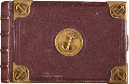 52002: U.S.S. Monongahela: Photo Album and Cartes-de-Vi